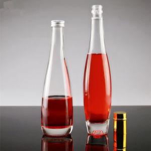Comercio al por mayor 330ML 375ml botella de vino de hielo de vidrio Botella de agua mineral de botella de vidrio para bebidas