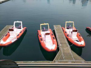 船外モーターの肋骨520の中国の膨脹可能な肋骨のボートの膨脹可能なボート