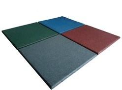 多彩な体操のフロアーリングゴム製シートの床のマット