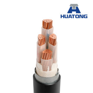 Conducteur en cuivre avec isolation XLPE gainé PVC blindés Câble d'alimentation électrique