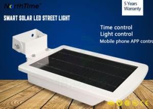 6 Вт Светодиодные комплексного использования солнечной энергии Уолл Стрит дороге путь парк Сад фонари лампы фонаря освещения датчика класса все в одном