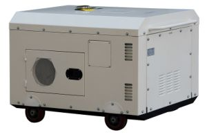 8.5kw Super Silent Electric Diesel Generator 공기 Cooled