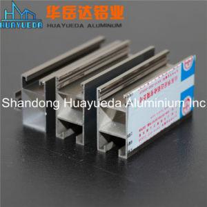 Electrohporesis Extrusión de Aluminio Perfiles de Aluminio Decoración