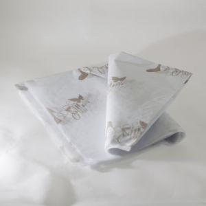 티슈 페이퍼를 감싸는 옷 주문 로고 하나 색깔에 의하여 인쇄되는 17GSM