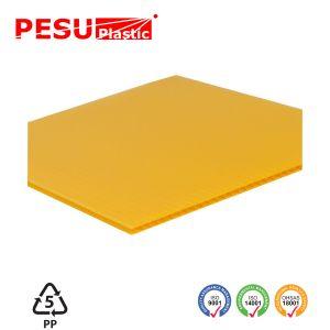 着色されたPPのプラスチック波形の床シート
