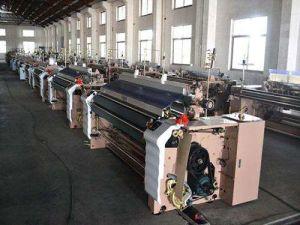 編む機械装置のウォータージェットの織機\ウォータージェット編む力織機