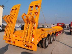 永久にWeifang 40t -半60t低いベッドのトラックのトレーラー