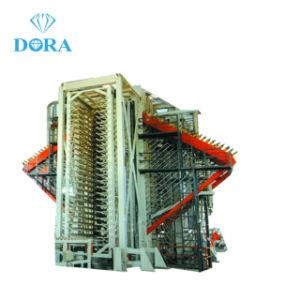 イランへのMDFの生産ライン木のドアの熱い出版物機械