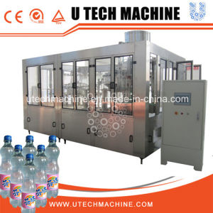 高速炭酸飲料の充填機