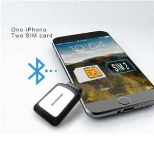 Dubbele Card Bluetooth Communication Gadgets voor iPhone iPad iPod Touch