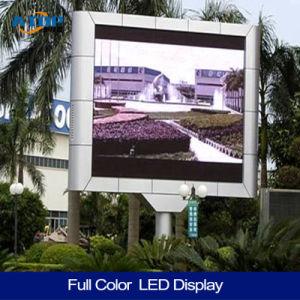P8 CMS numérique plein écran LED de couleur pour l'étape