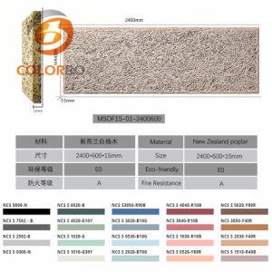 Environdmental Schutz-Produkt-Holzwolle-Kleber-Vorstand