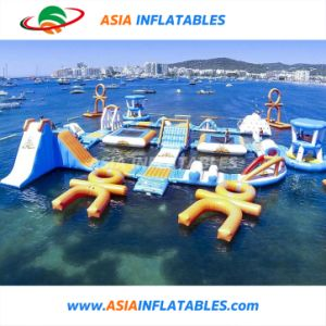Parc de sports d'eau Inflatabel, parc d'eau Commerciale gonflable