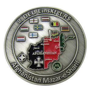 Förderung-Schmucksache-Antike-Silber personifizierte Metalldecklack-Münze als Geschäfts-Geschenk (161)