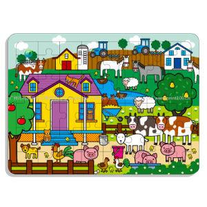 Design personnalisé Papier de l'éducation des enfants filles faveur Jigsaw Puzzle d'impression