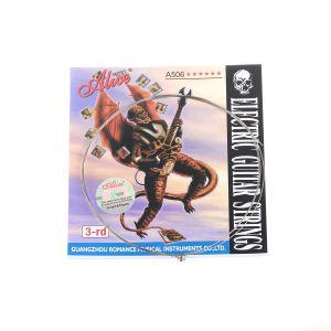 Musiclilyのアリスによってめっきされる鋼鉄エレキギターストリング