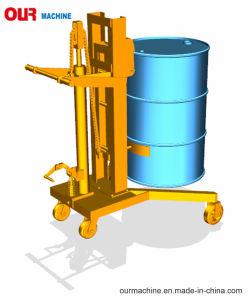 中国の工場販売容量450kgの油圧ドラムトラック、ドラムハンドラ