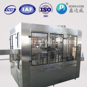 Venta caliente bebida carbonatada totalmente automática Máquina de Llenado de agua de soda
