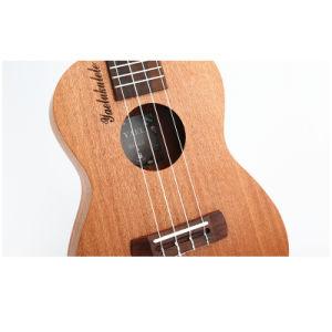 하와이 23의  Sapele 청각적인 우쿨렐레, 4개의 끈 기타, 작은 기타