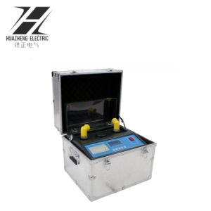 デジタル・プリンタが付いているIEC 60156のポータブルの変圧器オイルの試験装置