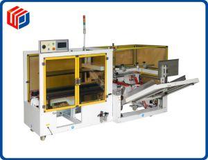 Case Erector caja de cartón corrugado y la parte inferior de la máquina selladora para envases de bebidas