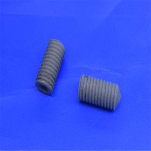Sinterizzazione dell'allumina solida filettata grado 1500 vite di ceramica Al2O3