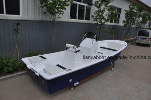 Liya 5,8 milhões barco de pesca de fibra de vidro com Motor Panga barco para venda
