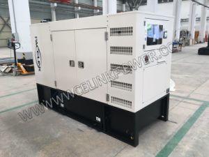72.5kVA経済セリウムISOのCummisによって動力を与えられる防音のディーゼル発電機セット