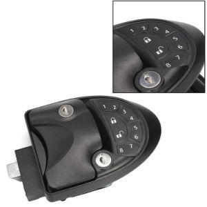 Système d'entrée sans clé d'alarmes de voiture Kit de centrale de commande à distance Poignée de loquet de serrure de porte le bouton Pêne dormant Camper Trailer