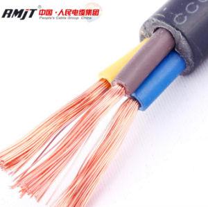 Cavo elettrico isolato PVC di rame flessibile del collegare