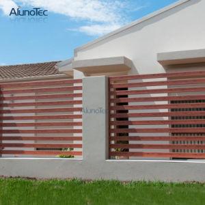Casa de metal paneles de pantallas de esgrima valla de persiana de aluminio