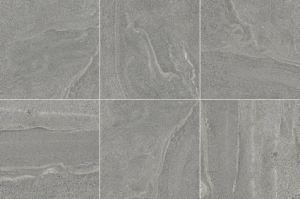 Hete Verglaasde het Vloeren van de Tegel van de Verkoop Donkere Grijze Rustiek porselein Tegels 600*600