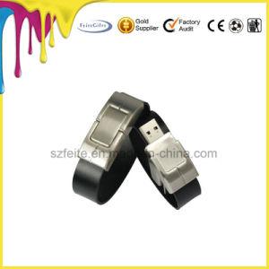 革ブレスレットUSBのフラッシュディスクブレスレットUSBのフラッシュ・メモリのペン駆動機構