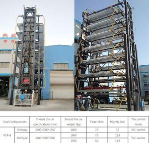 Mecánico automático Carrusel Vertical sistema de aparcamiento de varias plantas