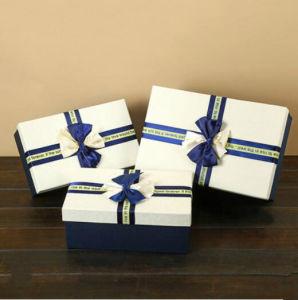 Rojo clásico confitería dulces Caja de regalo de lujo de alto grado de calidad