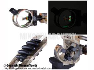 M120 het Regelbare Recht van de Boog van de Samenstelling van de Jacht van het Boogschieten & Weggegaan - overhandigde Boog