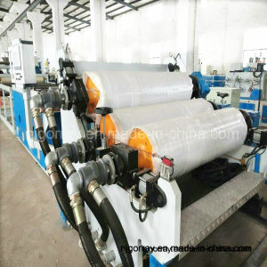100% de plástico reciclado de residuos de hoja de máquina extrusora de doble tornillo