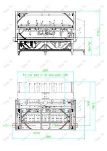 Tejido de alta velocidad automática máquina de plegado de papel, se utiliza para (Soft embalaje/envase/embalaje Caja de disco duro)