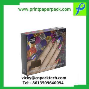 Пользовательский цвет печати Food Grade складных прогулочных судов косметический духов подарочная упаковка бумаги, эфирное масло упаковки дисплея к прикуривателю бутылку вина упаковки для хранения