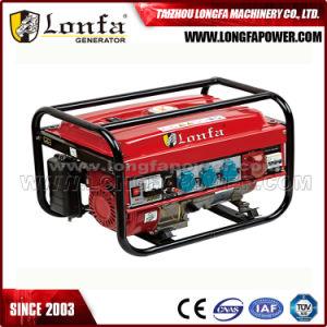 5kVA/5kw 3 Fase de arranque manual del generador de gasolina con el rompedor Protecter
