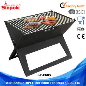 fonte multifonction portable barbecue au charbon de bois d. Black Bedroom Furniture Sets. Home Design Ideas
