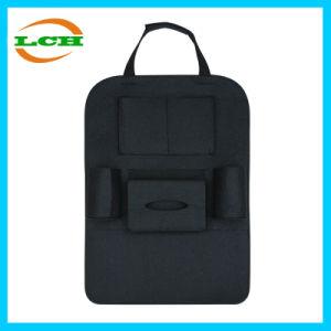 Bolsillos múltiples Auto asiento de atrás del organizador de almacenamiento de bolsas de tela