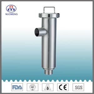 Gesundheitlicher Edelstahl geschweißter Winkel-Typ Grobfilter (ISO-Kein. NM100104)