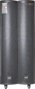 Teimeisheng Feiyang Kvg grande de madeira de Potência Acústica Bluetooth Audio Alto-falante com microfone UHF