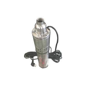 Qgd/Qg tornillo serie sumergibles de pozo profundo bomba de agua 0,75CV
