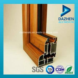 Windows 문을%s 색깔 여러가지 주문을 받아서 만들어진 6063 알루미늄 밀어남 단면도