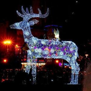 69da81f1f24 Fuera de la Navidad LED (RY-LMD-006) ciervos luces decorativas de la fábrica