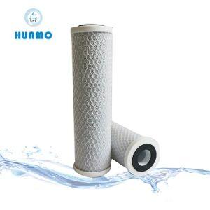 Bloco de carbono activado /CTO o cartucho do filtro de água para uso doméstico sistema RO