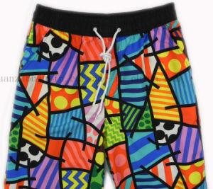 Shorts della scheda della spiaggia dei pantaloni delle donne di estate degli uomini su ordinazione del poliestere