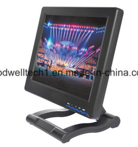 "12.1 ""Monitor hd-SDI met HDMI, YPbPr AV voor Directeur die Application wordt ingevoerd"
